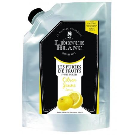 Purée de citron jaune pasteurisée - 1 kg  (38)