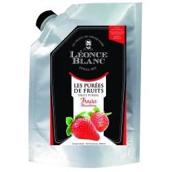 Purée de fraise pasteurisée - 1 kg  (40)