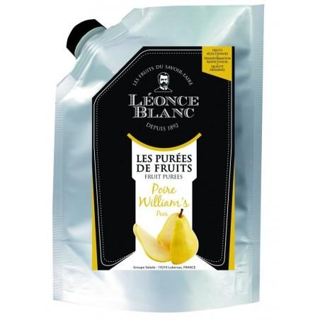 Purée de poire williams pasteurisée - 1 kg  (51)