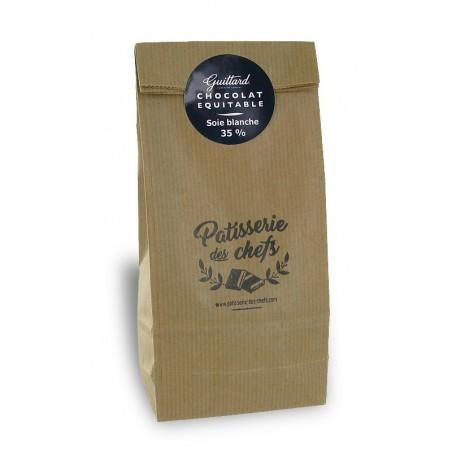 Soie Blanche, chocolat blanc 35% en sachet de 250g  (152)